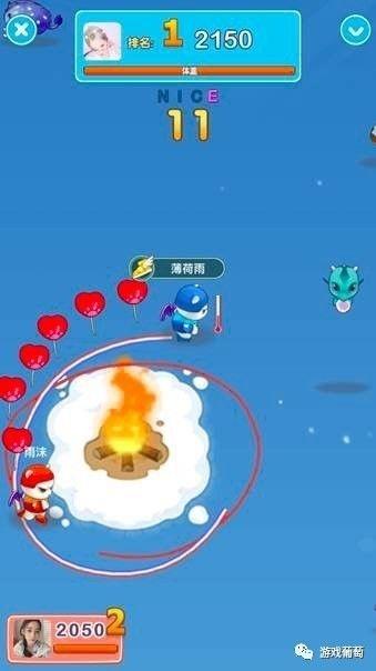 腾讯QQ靓号发布休闲竞技游戏《咕咚大作战》,8日累积2000万用户