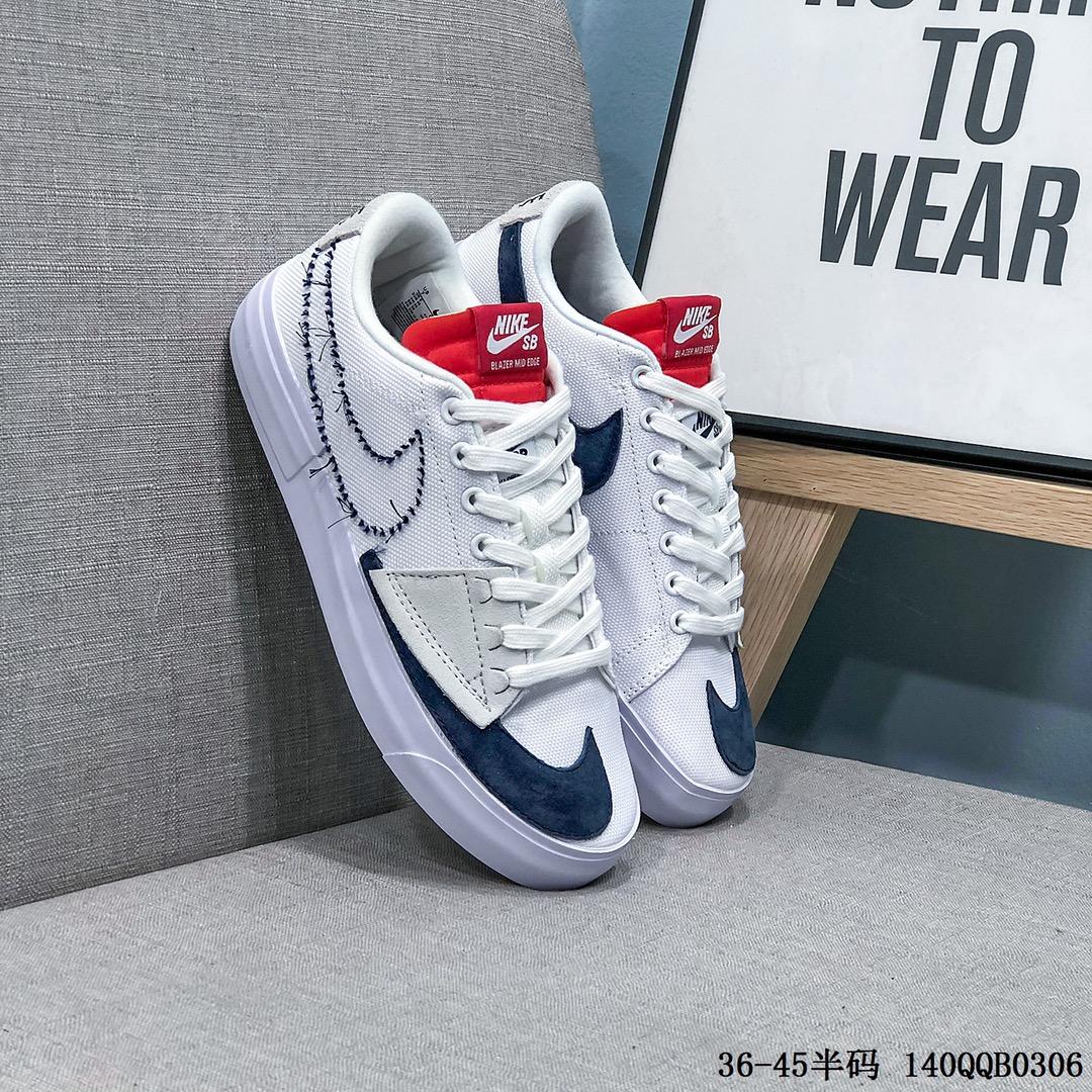 耐克Nike Blazer Retro 经典百搭高帮开拓者休闲运动板鞋